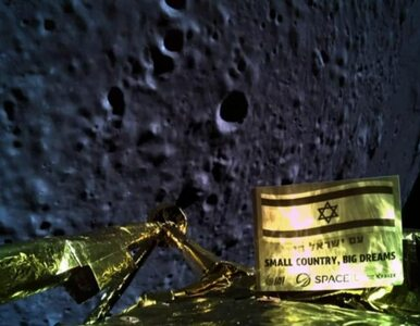 Pierwszy prywatny lot sondy na Księżyc zakończony fiaskiem