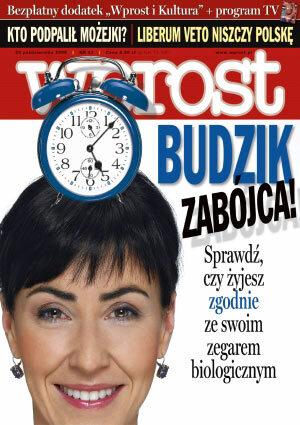 Okładka tygodnika Wprost nr 43/2006 (1245)