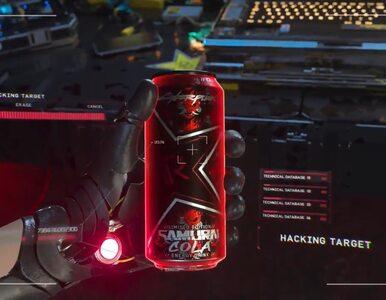Cyberpunk 2077 dostanie swojego energetyka. Rockstar Energy zapowiada...