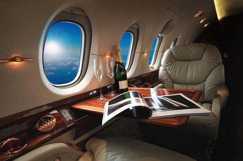 Luksusowy samolot