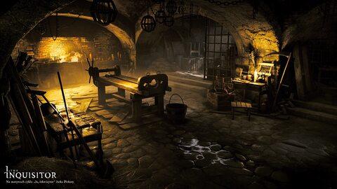 """""""Ja, Inkwizytor"""", screenshoty z gry na podstawie cyklu Jacka Piekary"""