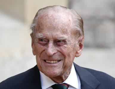 Książę Filip przeniesiony do kolejnego szpitala. Nowe informacje o...