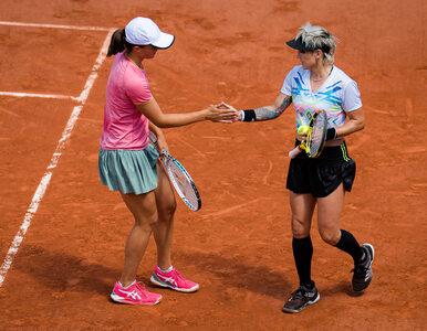 Roland Garros. Świątek i Mattek-Sands w finale debla French Open. Kiedy...