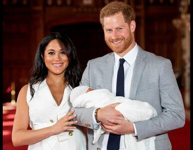 Meghan Markle i książę Harry ujawnili imię swojego dziecka