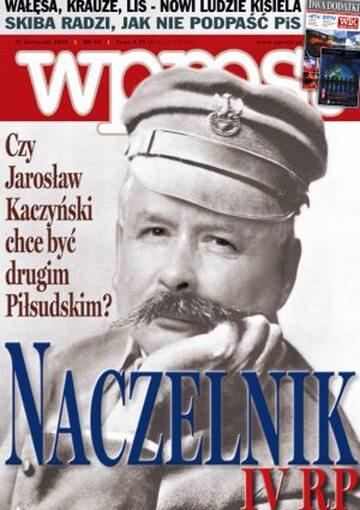 Okładka tygodnika Wprost nr 45/2005 (1197)