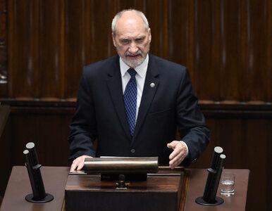 Macierewicz: Szczyt NATO w Warszawie to historyczne wydarzenie