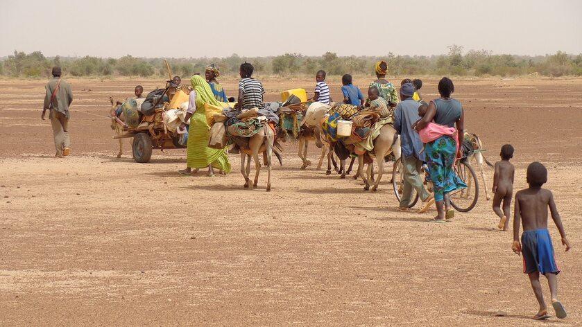 Uchodźcy klimatyczni, zdjęcie ilustracyjne