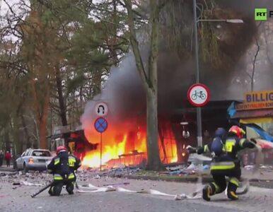 Eksplozja na stoisku z fajerwerkami w Świnoujściu. Zobacz nagranie
