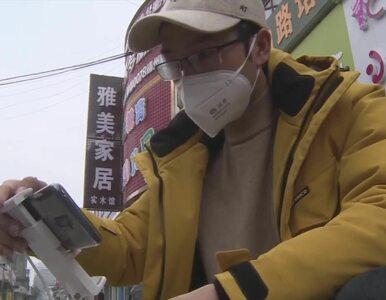 """""""Hej, wyszedłeś bez maski, wracaj do domu!"""" Chińczycy wykorzystują drony..."""