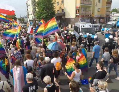 Dwie osoby zatrzymane po Marszu Równości w Płocku. Zarzuty za atak na...