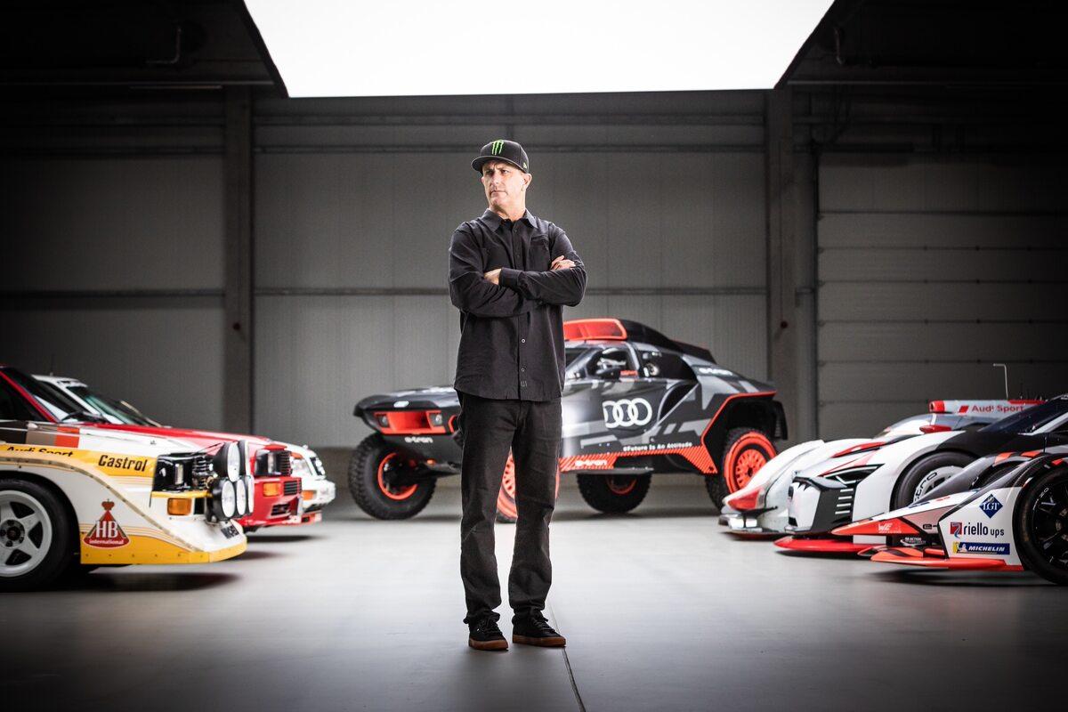 Ken Block i Audi