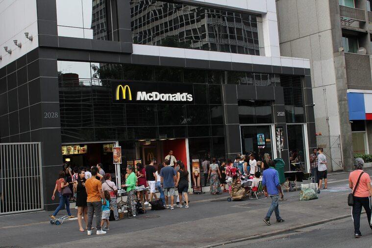 Jedna z restauracji McDonald's w Brazylii