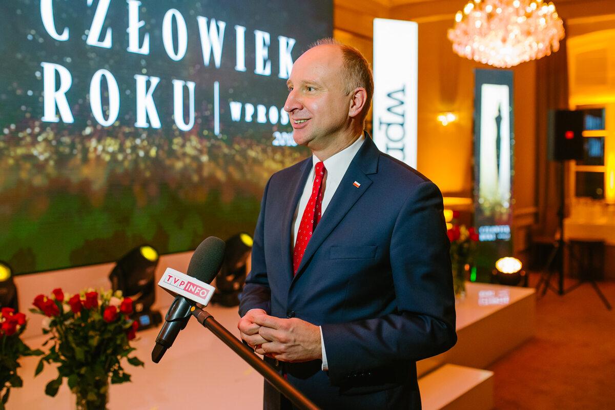 Minister Wojciech Kolarski