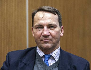 """Radosław Sikorski dziękuje politykom PiS. """"Miło, że chociaż w czymś..."""