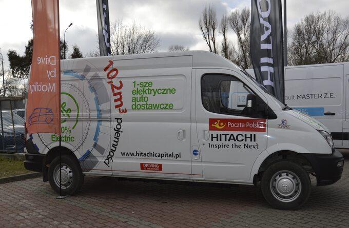 Poczta Polska _ testy aut elektrycznych o ładowności do 800 kg (1)