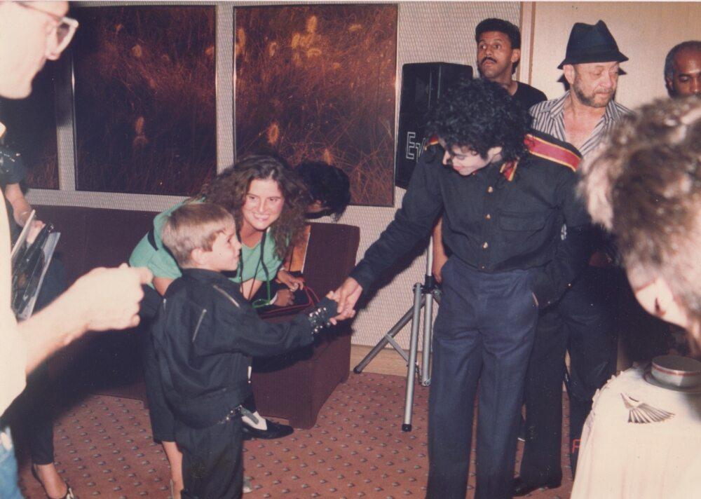 "Kadr z filmu dokumentalnego ""Leaving Neverland"""