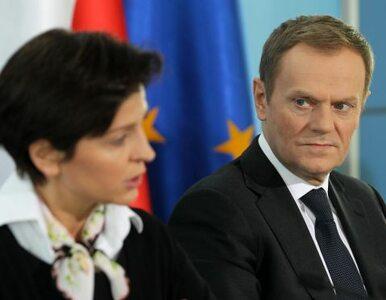 Tusk: Narodowy to sukces Muchy i Drzewieckiego