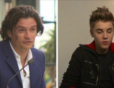 Justin Bieber wdał się w bójkę z Orlando Bloomem