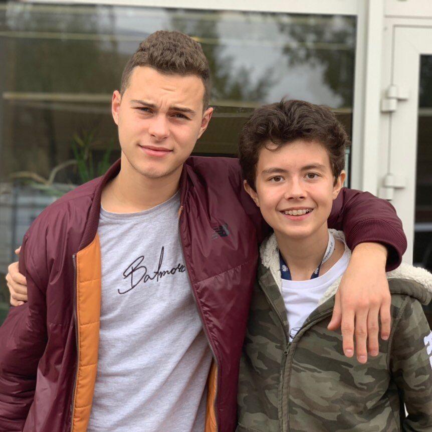 Adam Zdrójkowski i Mateusz Pawłowski dziś