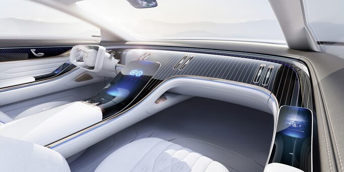 Pojazd koncepcyjny Mercedes-Benz Vision EQS 2