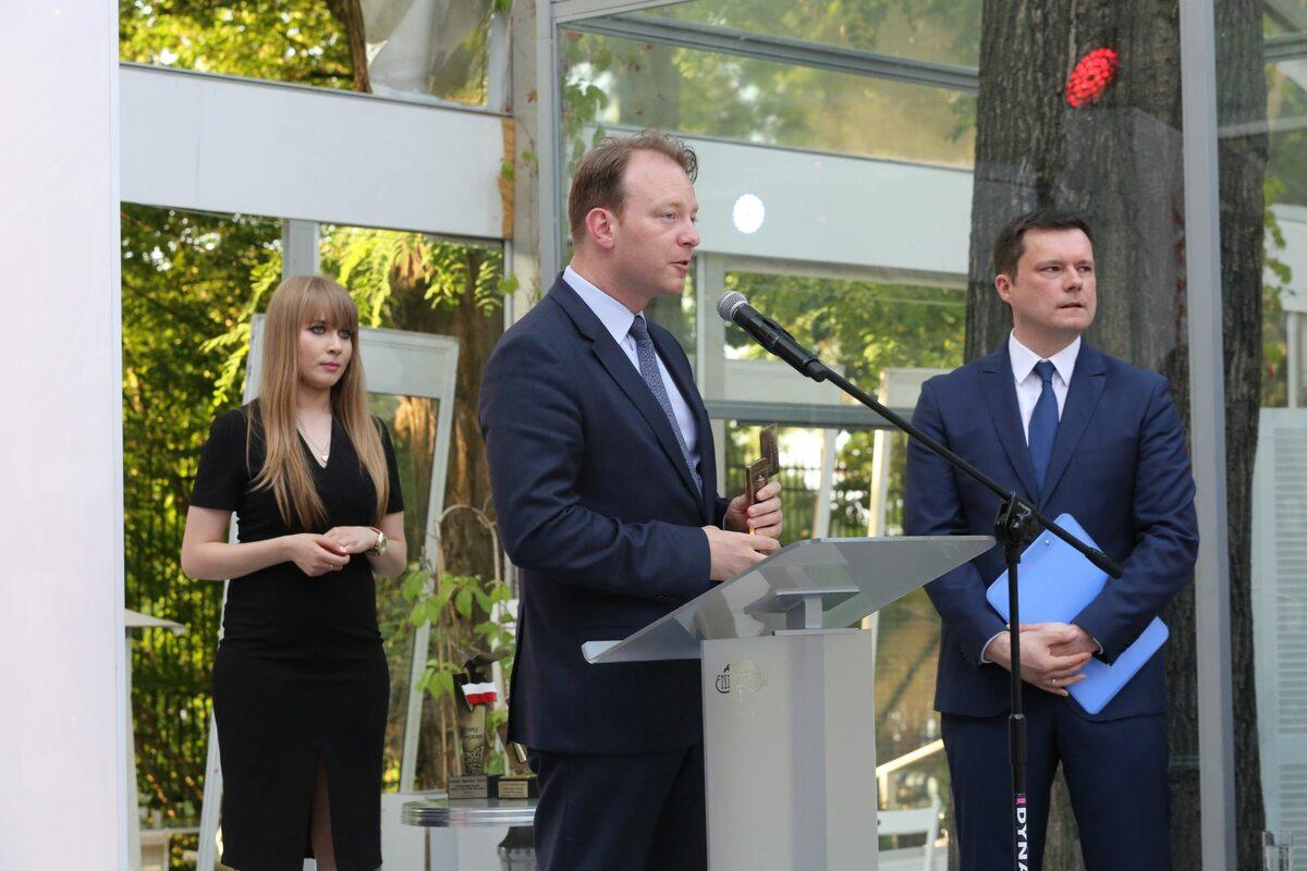 """Gala wręczenia Portfeli """"Wprost"""" - Paweł Surówka, prezes zarządu PZU Gala wręczenia Portfeli """"Wprost"""""""
