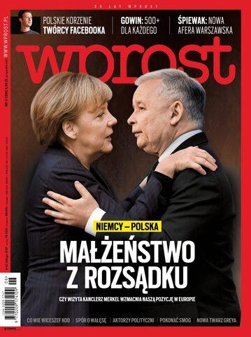 Okładka tygodnika Wprost nr 6/2017 (1773)