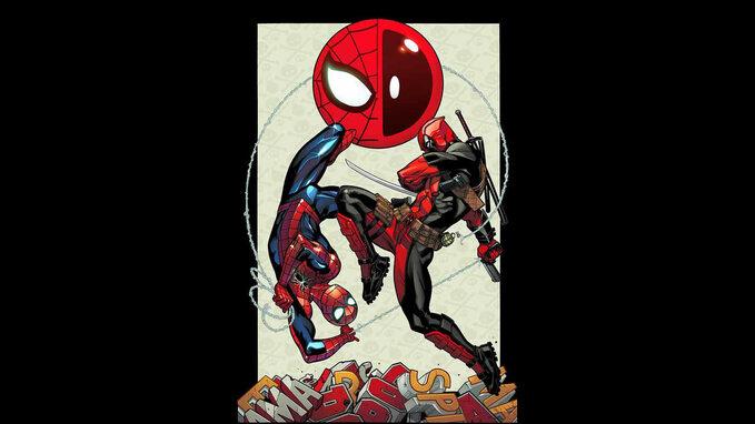 Comic-Con Spiderman vs Deadpool