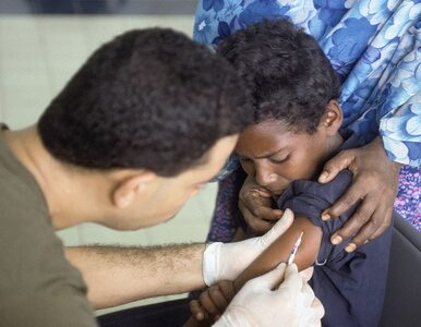 Światowy Dzień Walki z Polio. Najmniej zakażonych dzieci w historii