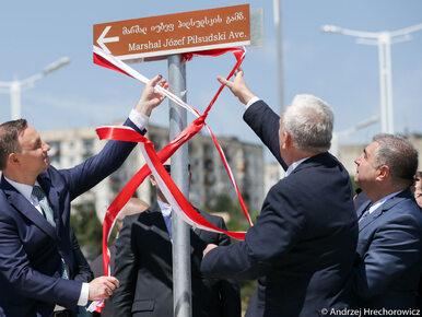 Piękny gest Gruzinów. W Tbilisi otwarto Aleję Józefa Piłsudskiego