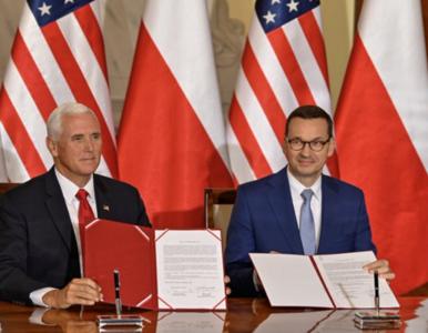 """Morawiecki i Pence podpisali deklarację dotycząca sieci 5G. """"Jedynie..."""