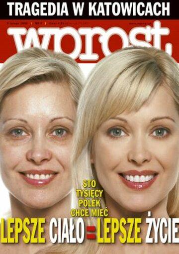 Okładka tygodnika Wprost nr 5/2006 (1208)