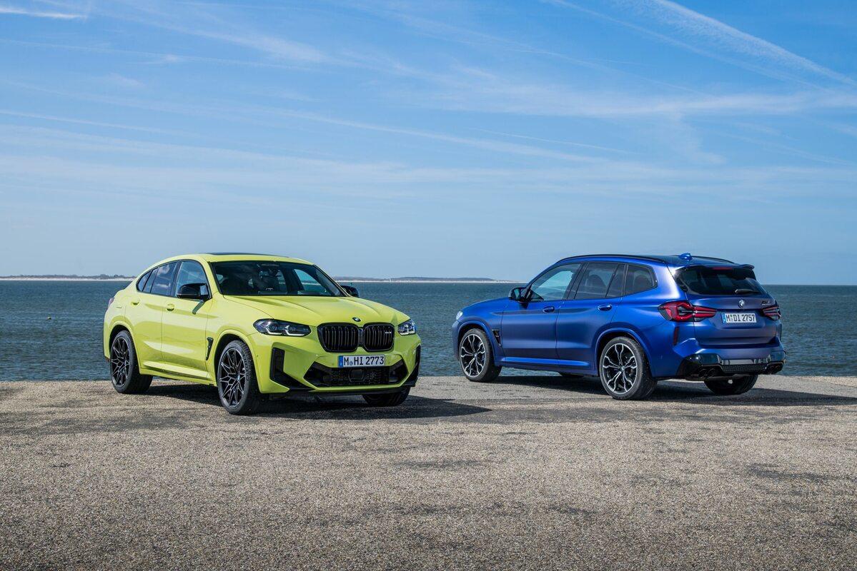 BMW X3 i X4 M Competition