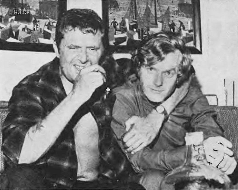 Marek Hłasko i Krzysztof Komeda (1968)