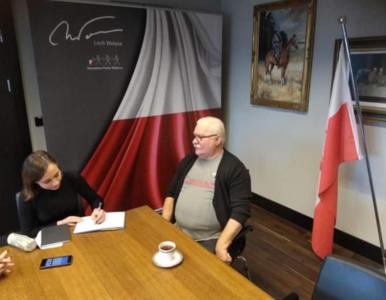 Lech Wałęsa zdradził, na kogo odda głos w wyborach prezydenckich