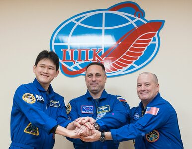 Ekipa Sojuza dotarła do Międzynarodowej Stacji Kosmicznej. Będzie...