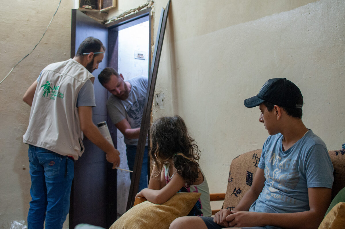Bejrut. Naprawy PAH w domach