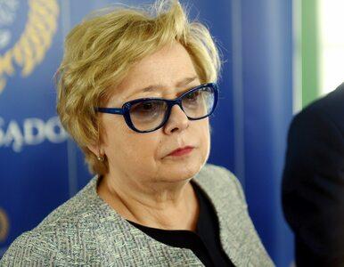Małgorzata Gersdorf wyznaczyła swojego zastępcę. Ten uznaje ją za I...