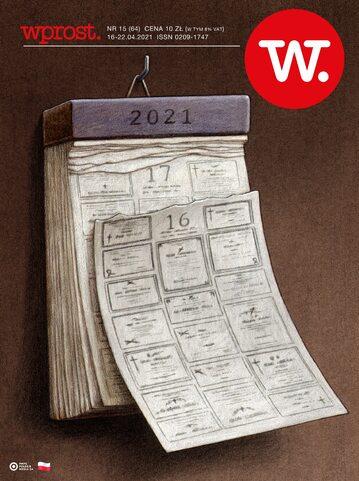 Okładka tygodnika Wprost nr 15/2021 (1980)