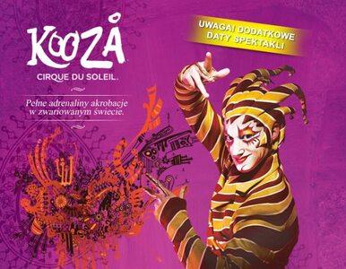 Barwne widowisko na Narodowym. Cirque du Soleil już występuje w Polsce