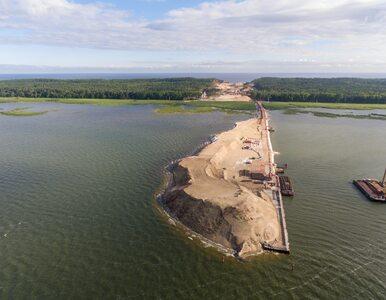 Polska ma trzy nowe wyspy. Wyspa powstała przy przekopie Mierzei ma już...