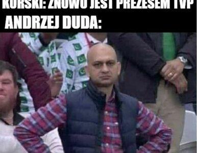 Jacek Kurski znów na czele TVP. Memy podsumowują historię prezesa