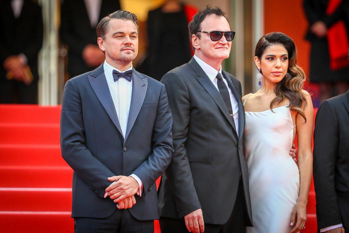 Leonardo DiCaprio, Quentin Tarantino i Daniela Pick