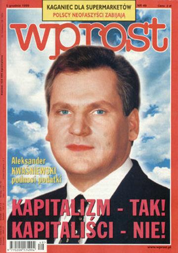 Okładka tygodnika Wprost nr 49/1999 (888)