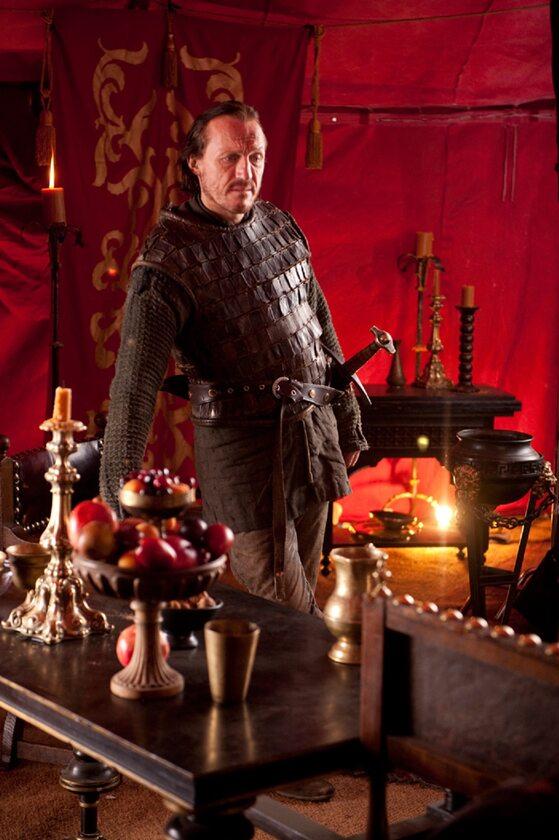 """Bronn po raz pierwszy w """"Grze o tron"""" W Bronna wciela się aktor Jerome Flynn."""