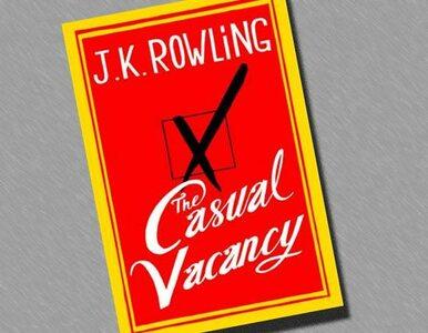 """Autorka """"Harry'ego Pottera"""" napisała książkę dla dorosłych"""