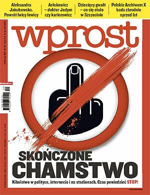 Okładka tygodnika Wprost nr 20/2011 (1475)