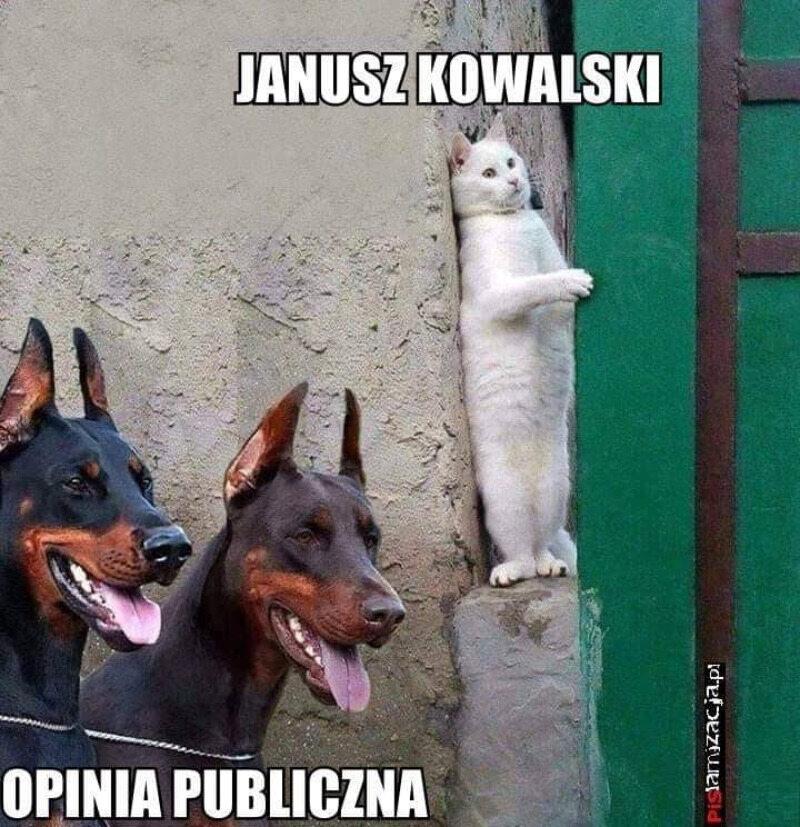 Mem z Januszem Kowalskim