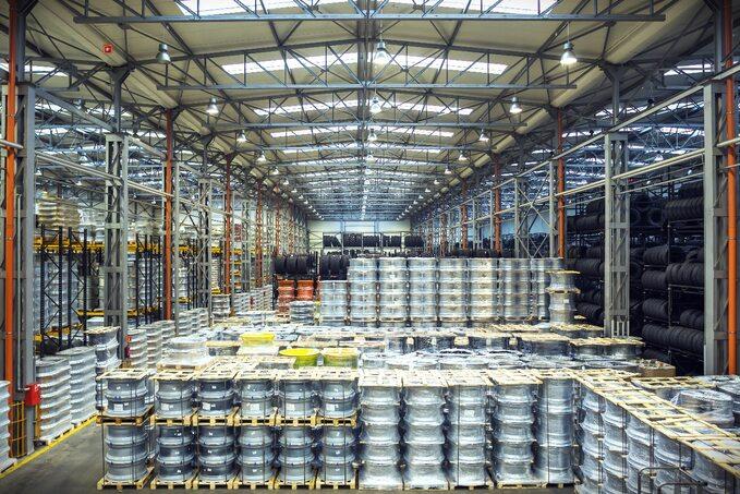 Firma jest wpierwszej trójce światowych producentów kół domaszyn wolnobieżnych