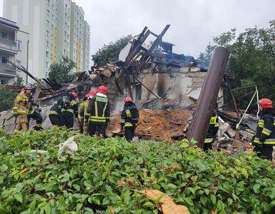 Wybuch w domu jednorodzinnym w Toruniu. Budynek się zawalił