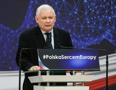 """Jarosław Kaczyński wysłał do liderów partii projekt deklaracji. """"Odnosi..."""